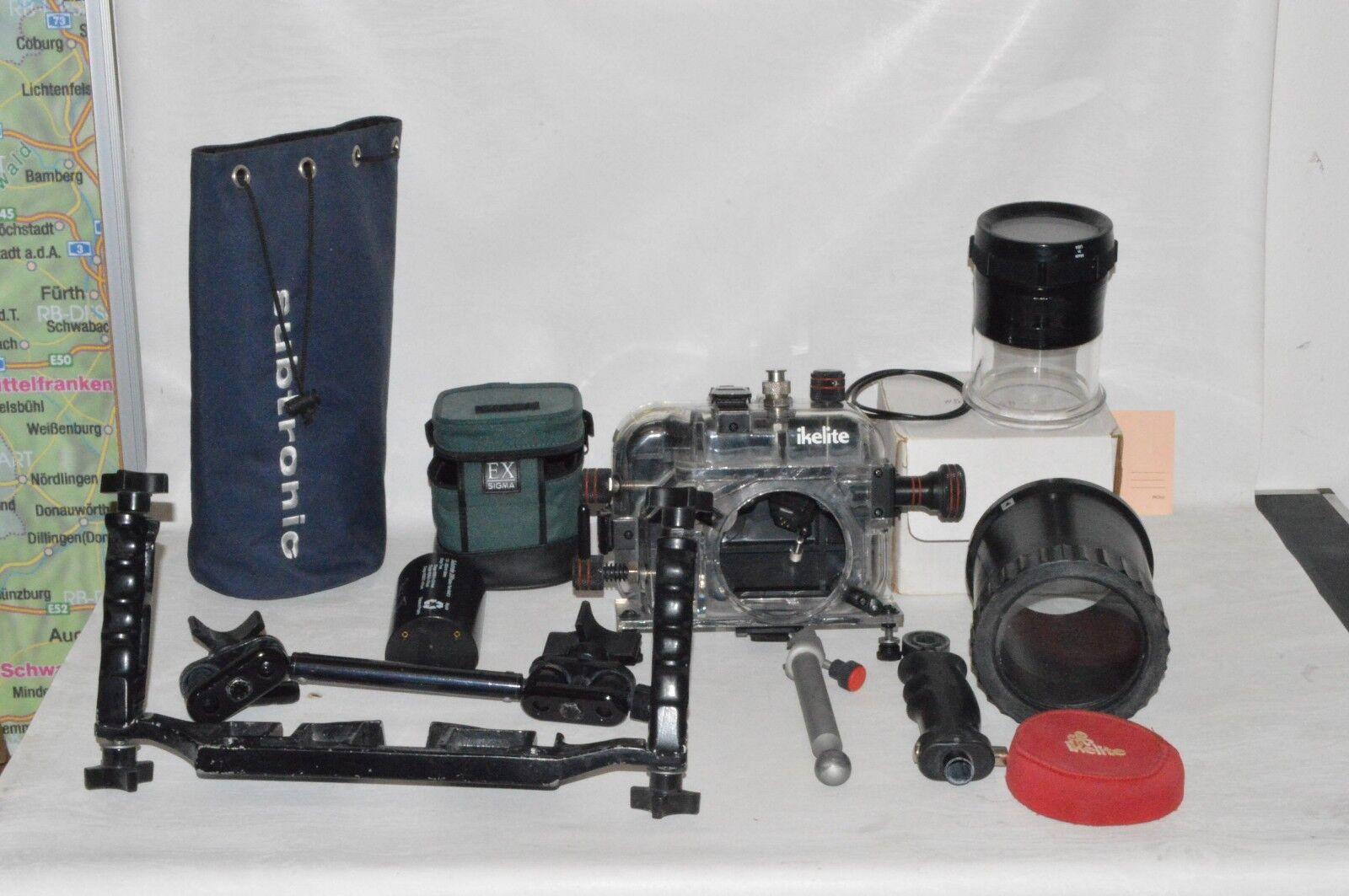 Unterwassergehäuse Unterwassergehäuse Unterwassergehäuse Ikelite  SLR Ersatzteile Zubehör  h1 ba433a