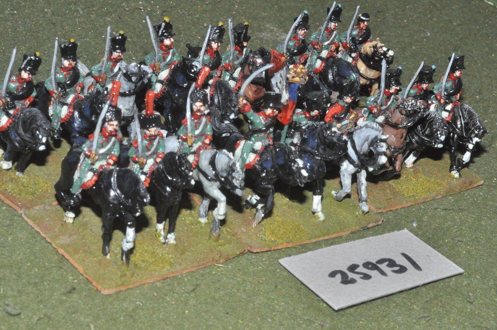 primera vez respuesta 25mm napoleónicas/francés-Luz 18 18 18 figuras-CAV (25931)  Envio gratis en todas las ordenes