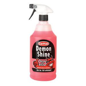 Carplan CDS101 1L Demon Spray On Shine 1 Litre Concentrated Wax Polish Car Care