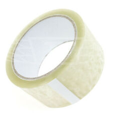 Clear Parcel Packing Tape 50m X 48mm Packaging Sellotape Sealing