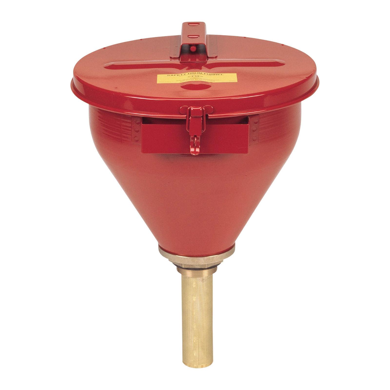 Justrite Steel Safety Drum Funnel  82075