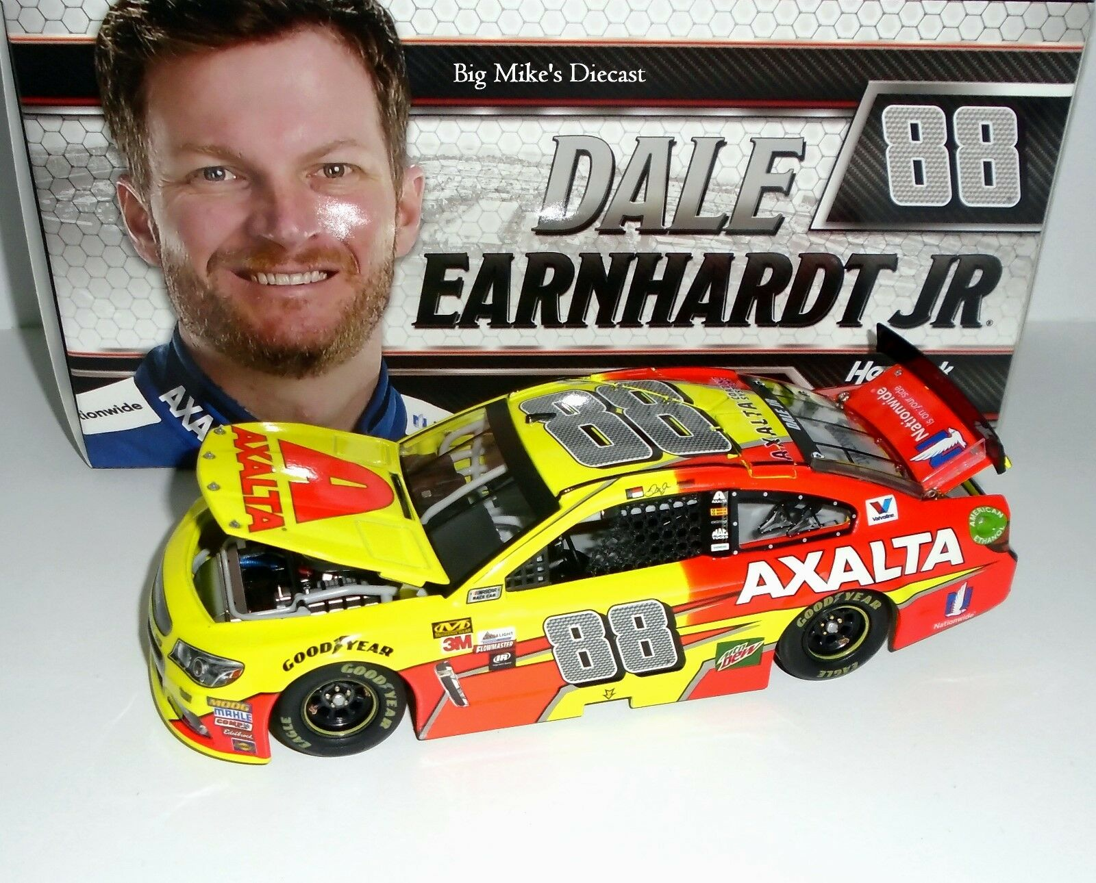 2017 Dale Earnhardt Jr. Axalta 1 24 24 24 Scale Diecast 99663b