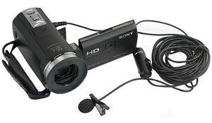 Lavaliermikrofon-fuer-3-5-mm-oder-1-4-034-Mikrofonbuchse-zum-klemmen-anstecken