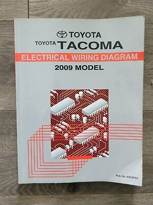 2009 Toyota Tacoma Electrical Wiring Book Diagram Service ...