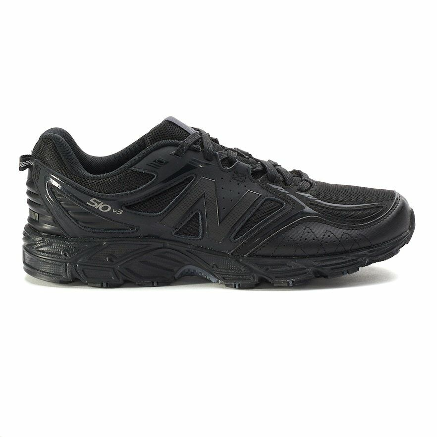 New  Uomo New Balance 510 510 510 v3 Trail Running scarpe da ginnastica scarpe Wide 4E nero f2e19e