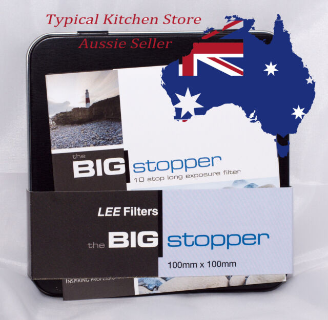 NEW 100mm Lee Big Stopper 10 stop ND Filter for Lee foundation kit 2mm