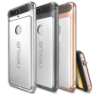 factory authentic 0ad52 64f7a Details about Google Nexus 6P Case, Ringke [FUSION] Shockproof Protective  Raised Bezels Cover