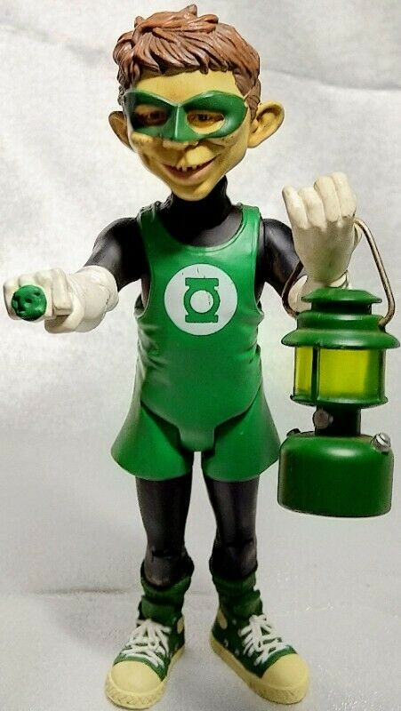 Mad Alfred E. Neuman  Green Lantern Action Figure by DC Comics. FREE SHIPPING
