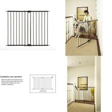 North States Supergate Easy Swing And Lock Metal Gate Matte