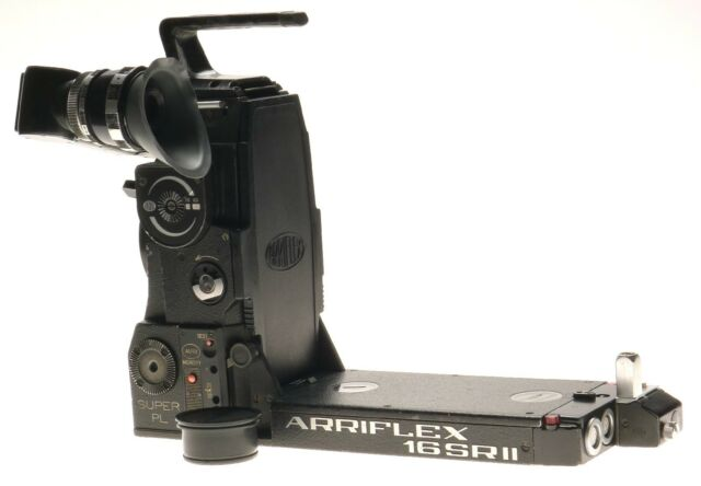 Arriflex 16 SRII Super PL Silent Reflex Camera Body Grip Viewfinder