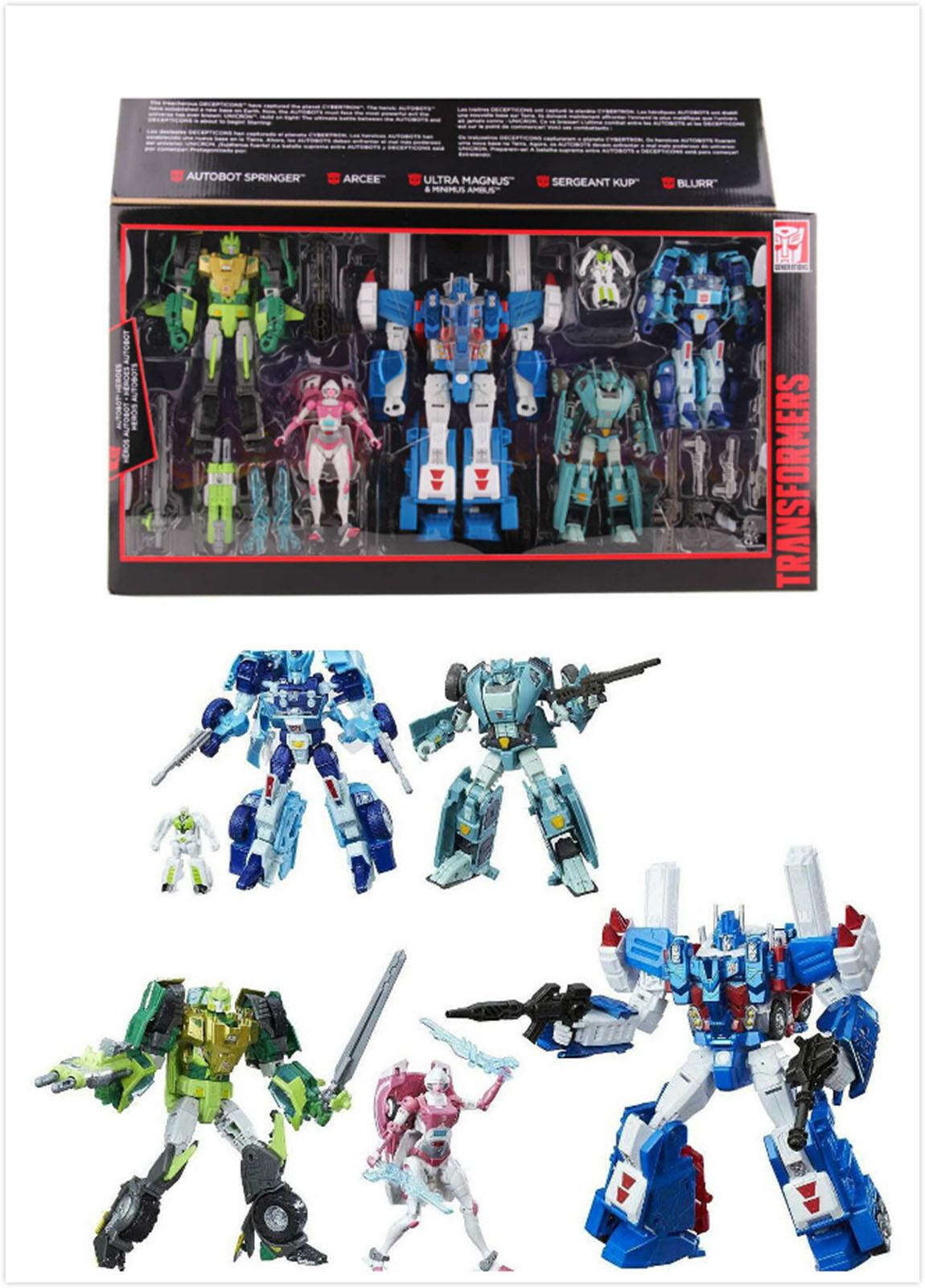 Regalo Transformers G1 Platinum Edition AUTOBOT HEROES Ultra Magnus Springer Kid
