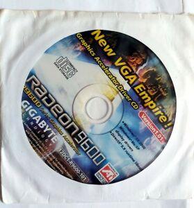 ATI Radeon 9600 Graphics Accelerator Driver CD (Version 1.01) - New Unused