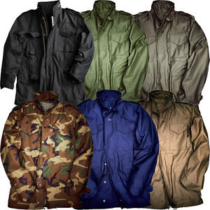 alpha industries m65 jacket field parka military autumn us. Black Bedroom Furniture Sets. Home Design Ideas