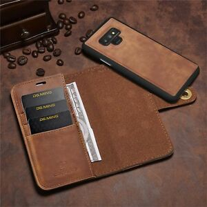 iPhone-X-Samsung-Note9-Wallet-Leather-Case-Detachable-Slim-Shockproof-RFID-Cover