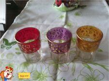Partylite Bel Mondo Trio 24K Goldrand neuwertig einfach Cool