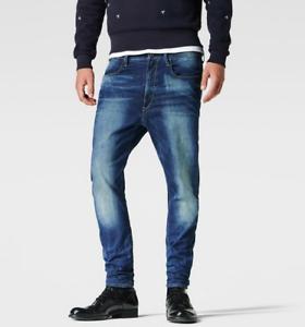 54cd938e0a4 G-Star Raw Type C 3D Super Slim Jeans Mezon Stretch Denim BNWT W28 ...