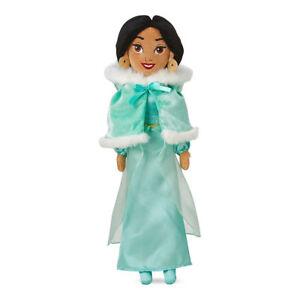 Disney-Store-Jasmine-Plush-Doll-in-Winter-Cape-Medium-19-039-High-NEW