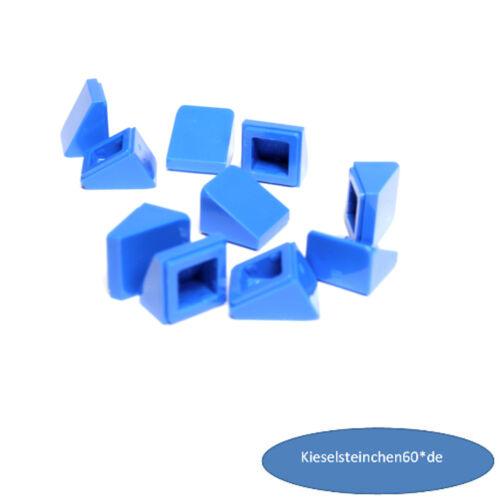 LEGO Bausteine & Bauzubehör LEGO® 10x  Dachstein Schrägstein 1x1x2/3  blau 54200 4504380