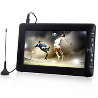 """9"""" WideScreen Digital Portable TV Integrated Freeview & Recording PVR - USB HDMI"""