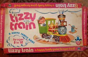 VINTAGE-SCANDALE-train-ARROW-Board-Game-annees-1970-Enfants-Jeu-libre-p-amp-p