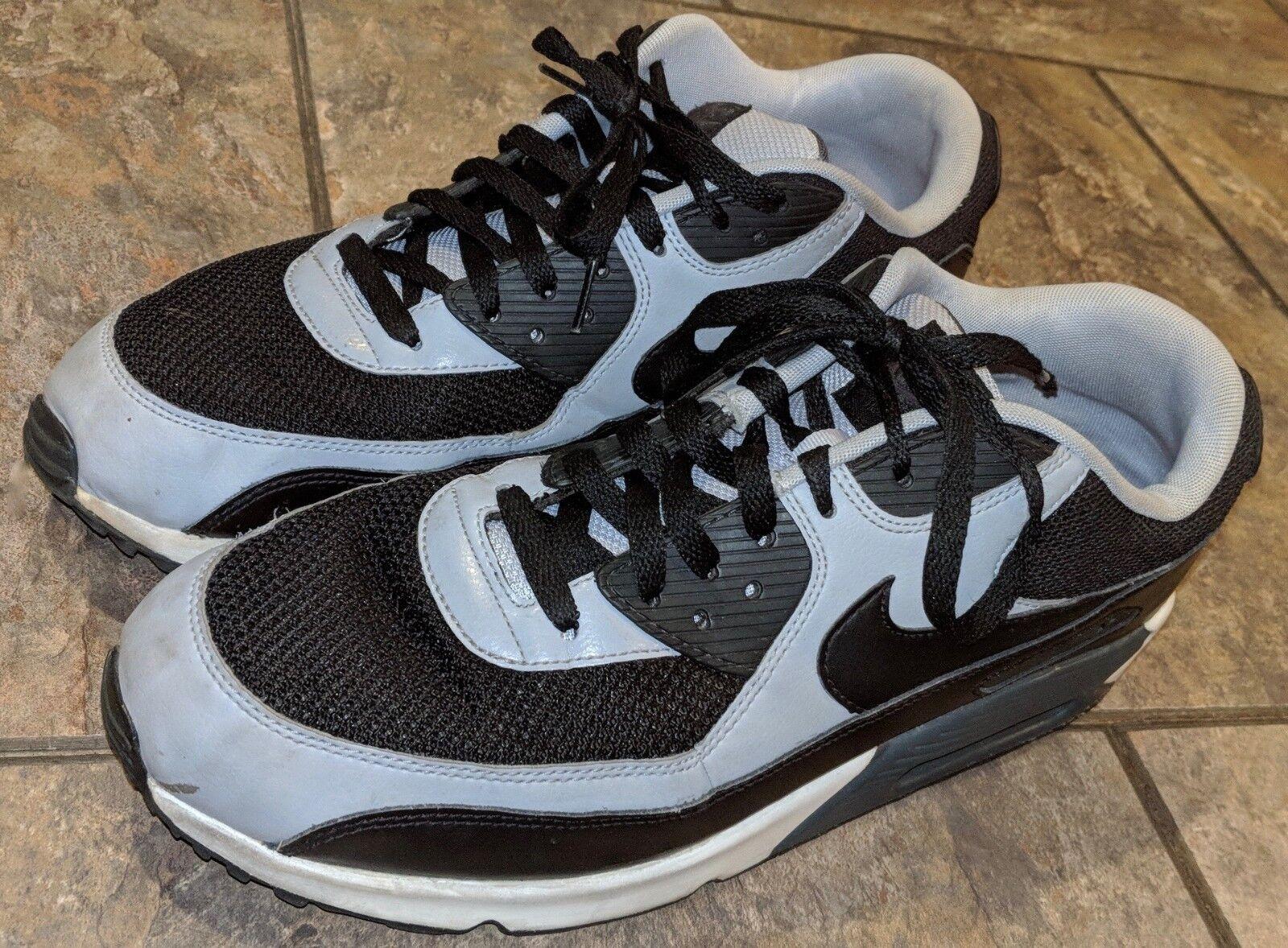 Nike air max 90 essenziale nero grigio bianco sz 13