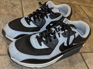 new style e7110 9d918 Image is loading Nike-Air-Max-90-Essential-Black-Grey-White-