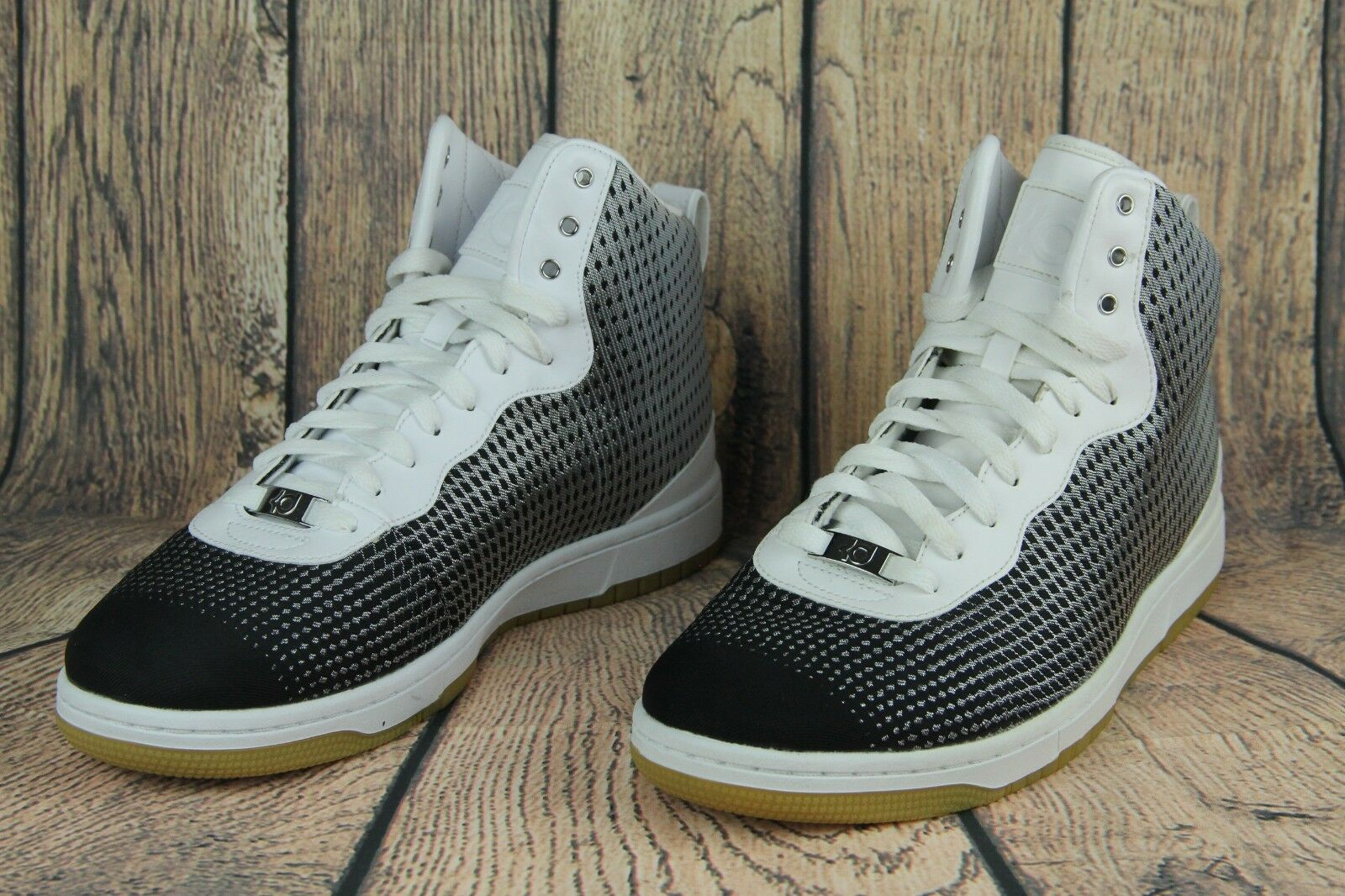 detailed look ace6d af35b ... Nike Kevin Kevin Kevin Durant KD VIII 8 NSW Lifestyle Metallic  Silver White 749637- ...