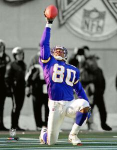 6d7d84ea2 Image is loading Cris-Carter-GRATITUDE-Minnesota-Vikings -1990s-Touchdown-Premium-