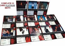 MICHAEL JACKSON 2011 Panini PLATINUM Foil NUMBER ONES Complete 13 Card SET Rare!