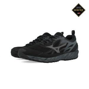 Mizuno-da-uomo-Wave-Ibuki-GORE-TEX-TRAIL-RUNNING-scarpe-da-ginnastica-Black