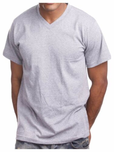 Men/'s HEAVY WEIGHT V-Neck T-Shirt Lot Plain Tee BIG And Tall Comfy Camo Hipster