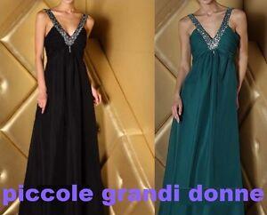 abito-donna-lungo-scollo-a-V-con-paiettes-vestito-cerimonia-damigella-sera-w11