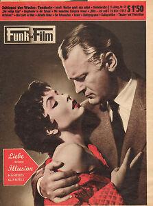 FUNK-UND-FILM-1955-nr-12-MARILYN-MONROE-SONJA-ZIEMANN-FRANCOISE-ARNOUL