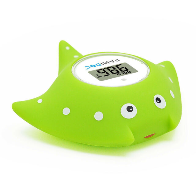 Famidoc Baby Bath Tub Floating Thermometer and Room Thermometer