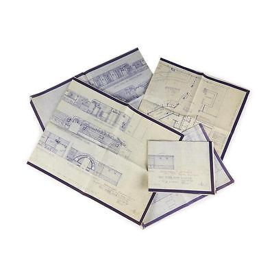 7. (Architecture). File of Architectural drawings, blue prints, etc. Arman... Lot 7