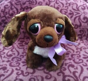 AURORA-YOOHOO-BROWN-LAB-DOG-SOFT-TOY-PLUSH