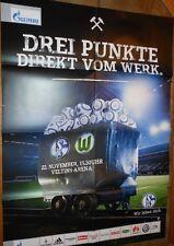 Jeu affiche - 22.11.2014 - FC schalke 04 vs. vfl wolfsburg + nouvelles motif série +