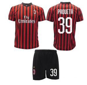 Maglia Calcio Ufficiale AC Milan PAQUETA' 2019 N 39 Rossonera ...