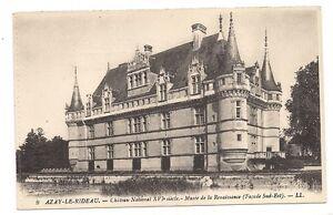 azay-le-rideau chateau national XVIe siècle ,musée de la renaissance ...