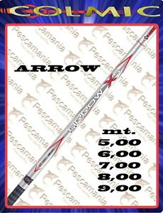 Canna-colmic-Arrow-xs-fissa-mt-5-00-6-00-7-00-8-00-9-00-telescopica