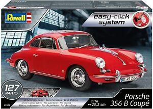 Revell-RV07679-Porsche-356-Coupe-Easy-Click-Model-Kit