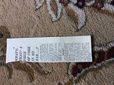 M12b ephemera 1969 article a bennett deafness cured cork somerset
