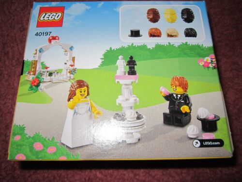 LEGO BRIDE AND GROOM WEDDING SET 40197 NEW//BOXED//SEALED