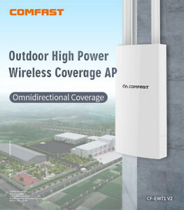 Comfast-Outdoor-Wireless-AP-Repeater-High-Power-300Mbps-Wifi-Range-Extender-EW71