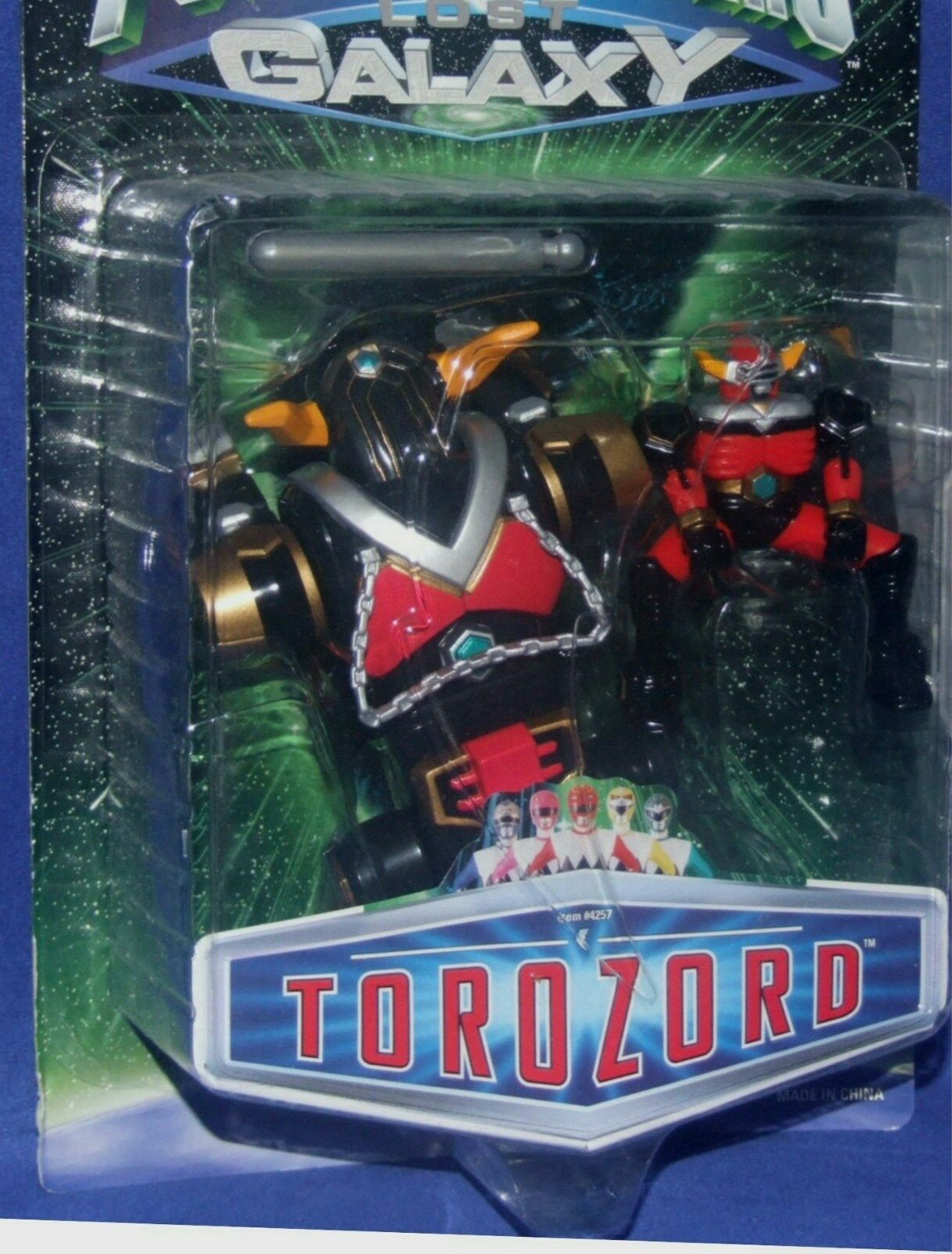 Power Rangers Lost Galaxy Tgoldzord Tgoldzord Tgoldzord Space Ranger Factory Sealed New 1998 fef7ff