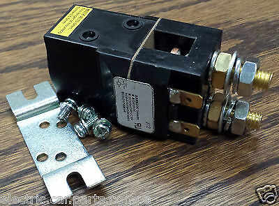 100A 24V DC Coil Contactor, 6000W 6kW, USA Stock Contactor, NEW!