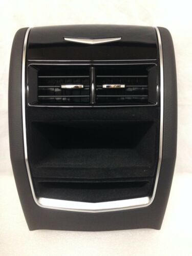 CT6 2016-2018 black center console tail piece rear end cap assembly