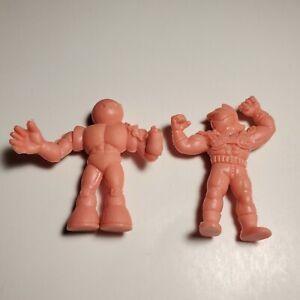 Mattel-1980s-M-U-S-C-L-E-Men-Flesh-Color-1-75-034-Tall-Figure-Lot-Of-2