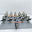 21-pcs-Star-Wars-lego-Compatible-501st-TROOPER-clone-Trooper-Printed-minifigures thumbnail 3