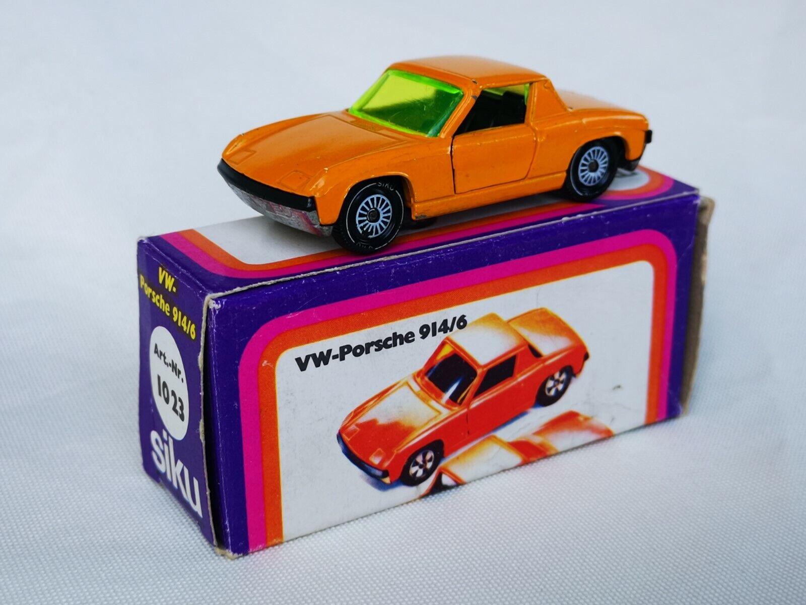 Siku no. 1023 v312 VW Porsche 914-6 Boxed